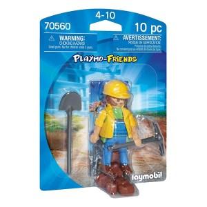 Playmobil Playmo-Friends: Οικοδόμος (εως 36 δόσεις)