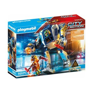 Playmobil City Action: Αστυνομικό Ρομπότ & Ληστής (εως 36 δόσεις)