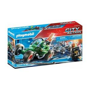 Playmobil City Action: Αστυνομική Καταδίωξη Go-Kart (εως 36 δόσεις)