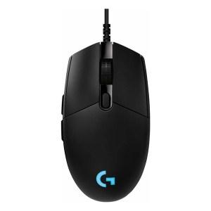 Logitech G Pro (Hero) RGB Gaming Ποντίκι Μαύρο (εως 36 Δόσεις)