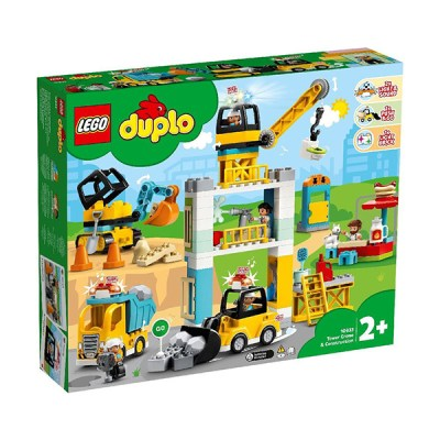 Lego Duplo: Tower Crane & Construction (εως 36 Δόσεις)