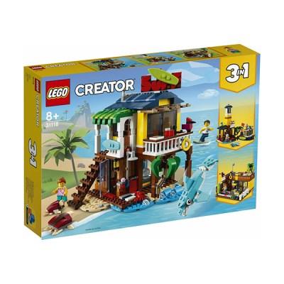 Lego Creator: 3 in 1 Surfer Beach House (εως 36 Δόσεις)