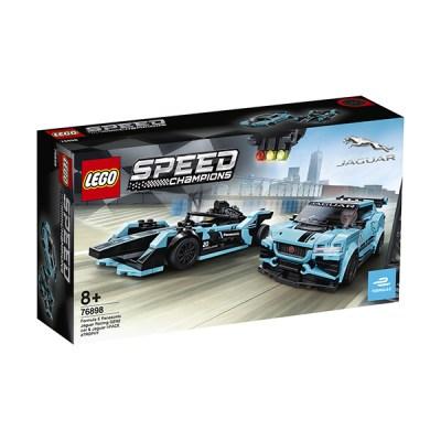 Lego Speed Champions: Formula E Panasonic Jaguar Racing GEN2 car & Jaguar I-PACE eTROPHY (εως 36 Δόσεις)