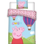 Peppa Pig Up And Away Junior Bedlinen Junior Bed Linen Ziigee