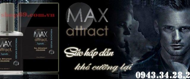 nước hoa kích dục max 4 men