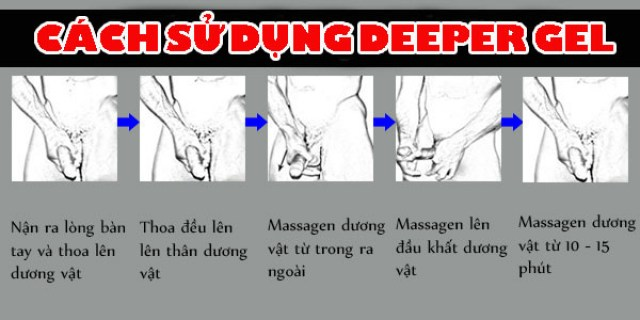 cách sử dụng deeper gel