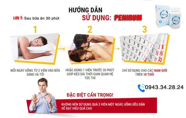 hướng dẫn sử dụng penirum