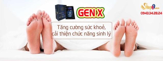 gen x có tác dụng trong bao lâu