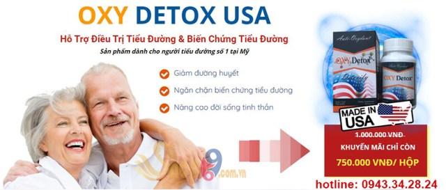 giá bán oxy detox