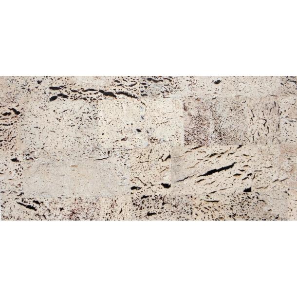 Decorative cork wall tiles EUROPA PB 3x300x600mm