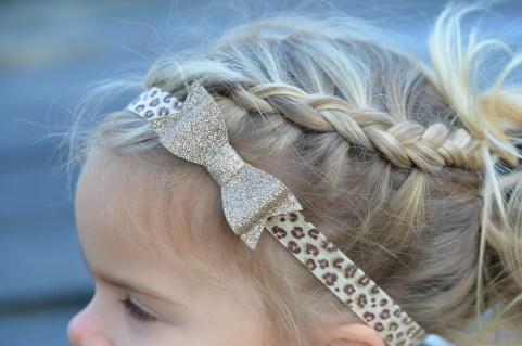 Nosah haarband met tijgerprint