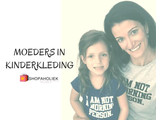 MOEDERS IN KINDERKLEDING