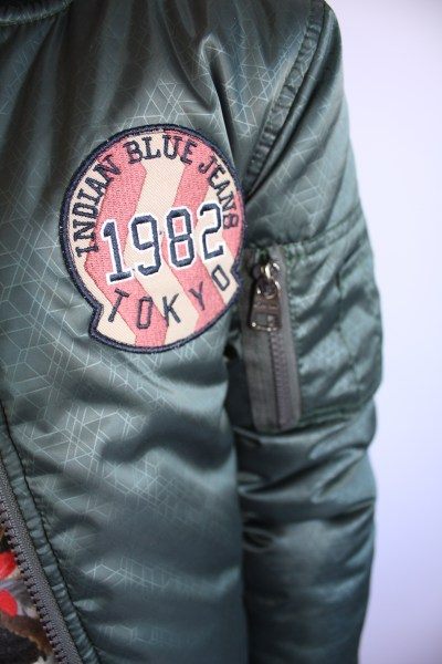 Indian Blue Jeans bomber