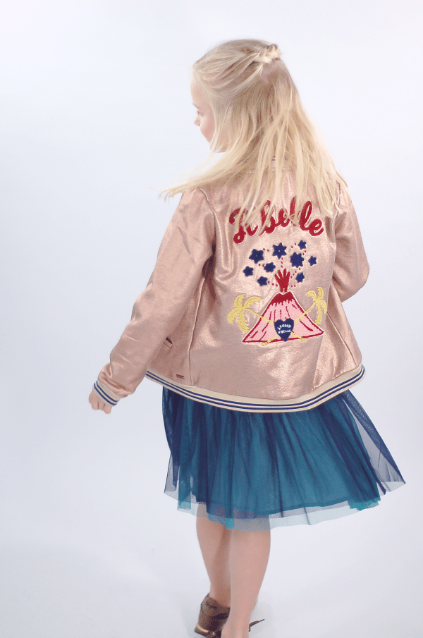 Scotch R'Belle metallic bomber