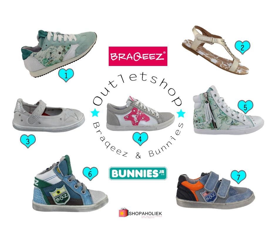 e6cff7d56e5 Braqeez en Bunnies outlet! | Shopaholiek