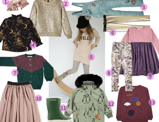 Kindermode wintertrends 2017