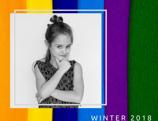 de basiskleuren voor winter 2018