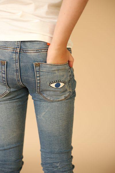 Stevige jeans voor kinderen