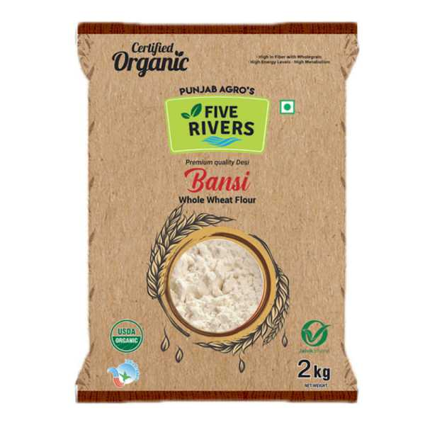 Grocery Bansi Wheat Flour (2 kg) grocery