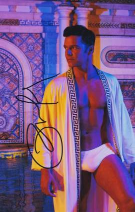 Ricky Martin In-person Autographed Photo