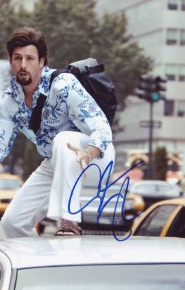 Adam Sandler in-person autographed photo