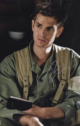 Andrew Garfield in-person autographed photo
