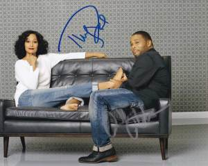 Black-ish In-person autographed Cast photo