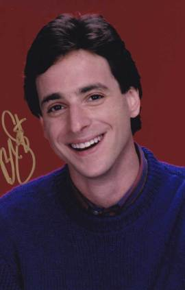 Bob Saget in-person autographed photo