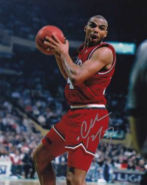 Charles Barkley In-person Autographed Photo