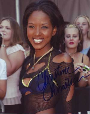 Christina Christian in-person autographed photo