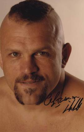 Chuck Liddell in-person autographed photo