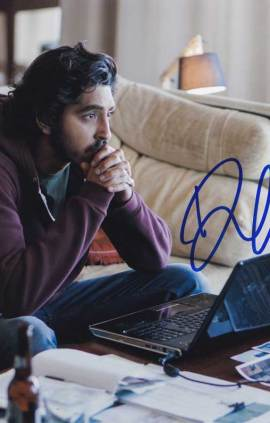 Dev Patel in-person autographed photo