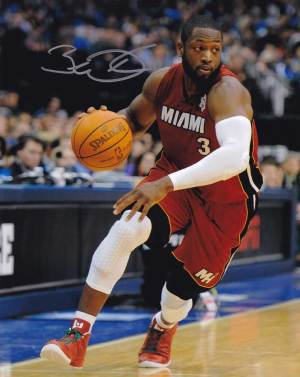 Dwyane Wade In-person Autographed Photo