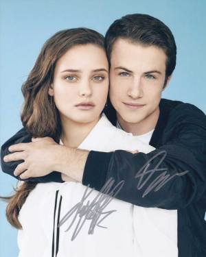 13 Reasons Why In-person autographed Cast Photo
