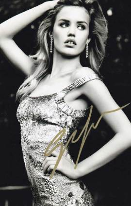 Georgia Jagger in-person autographed photo