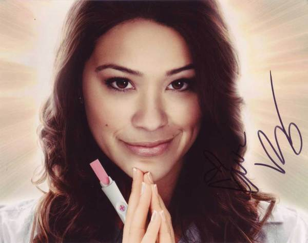 Gina Rodriguez in-person autographed photo
