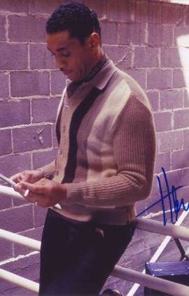 Harry Lennix in-person autographed photo