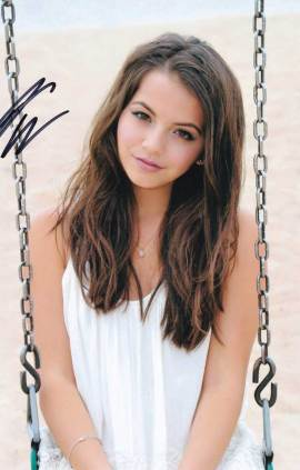 Isabela Moner In-person Autographed Photo