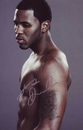 Jason Derulo in-person autographed photo