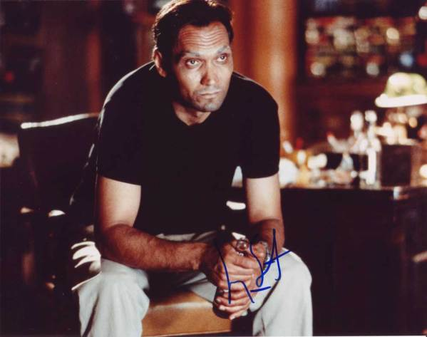Jimmy Smits in-person autographed photo
