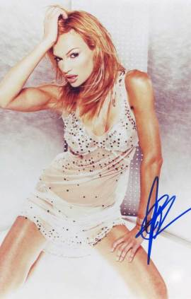 Jolene Blalock in-person Autographed photo