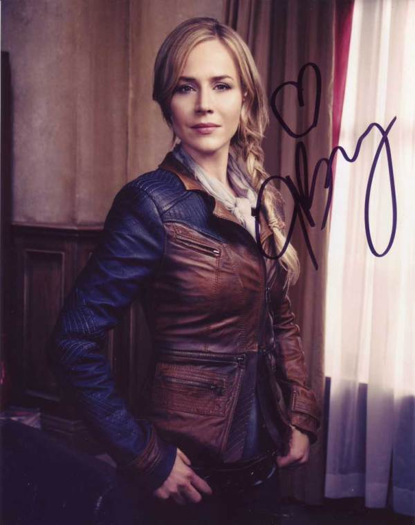 Julie Benz in-person autographed photo