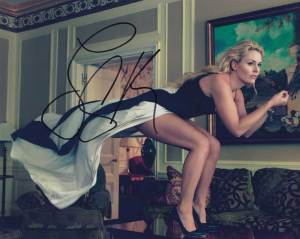 Lindsey Vonn in-person autographed photo