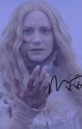 Mia Wasikowska In-person Autographed Photo