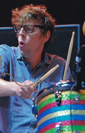 Patrick Carney in-person autographed photo The Black Keys