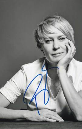 Robin Wright in-person autographed photo