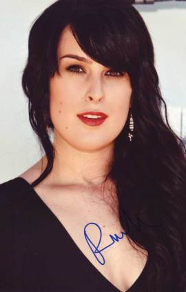 Rumer Willis in-person autographed photo