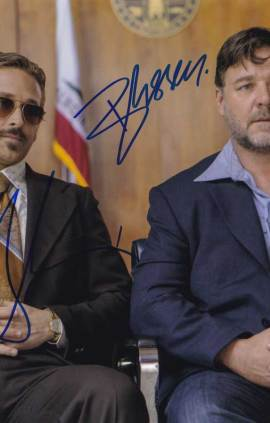 The Nice Guys In-person autographed Cast Photo