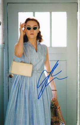 Saoirse Ronan in-person autographed photo