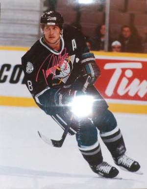 Teemu Selanne in-person autographed photo